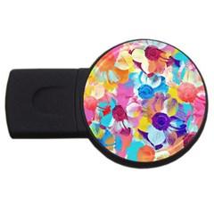 Anemones USB Flash Drive Round (4 GB)