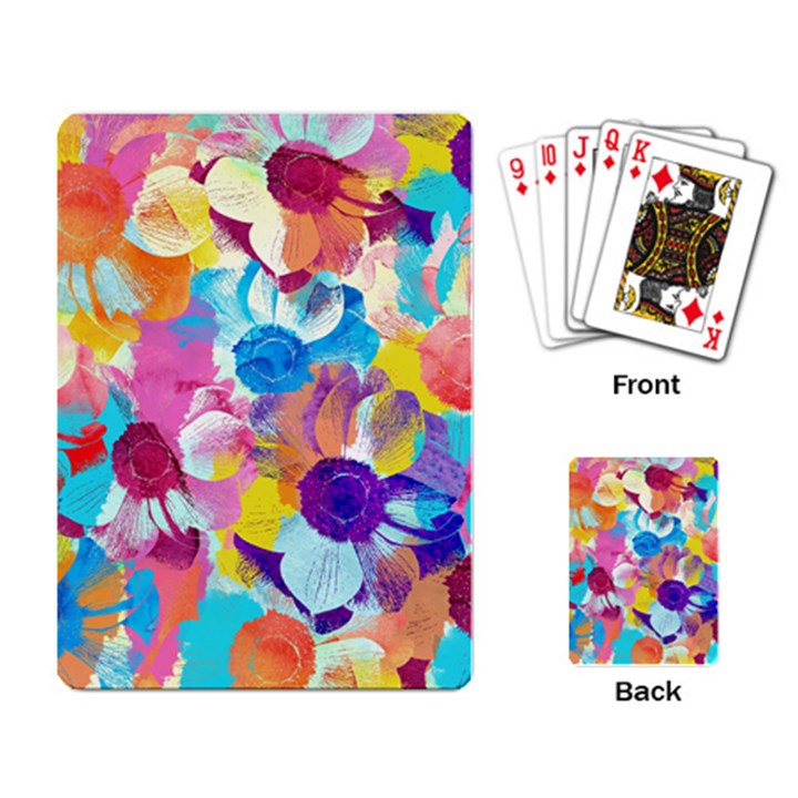 Anemones Playing Card