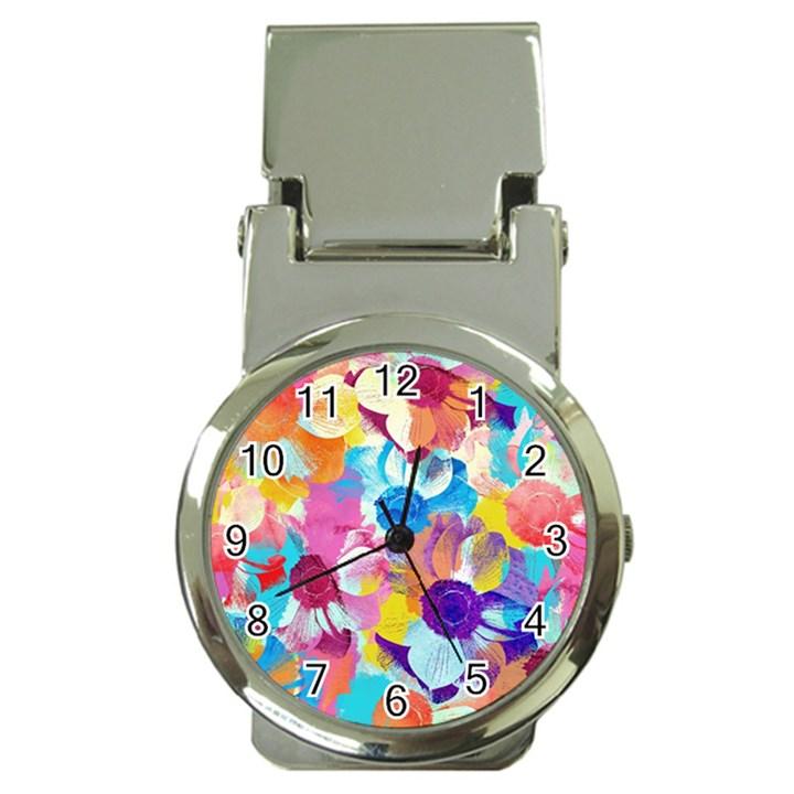 Anemones Money Clip Watches