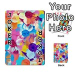 Anemones Playing Cards 54 Designs  Front - Joker1