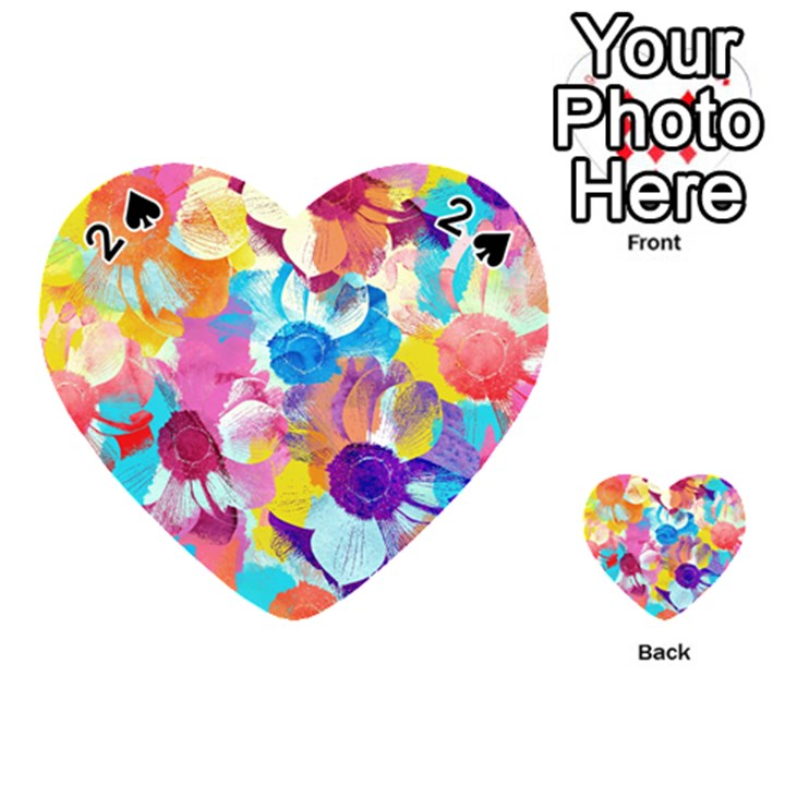 Anemones Playing Cards 54 (Heart)