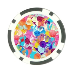 Anemones Poker Chip Card Guards (10 pack)