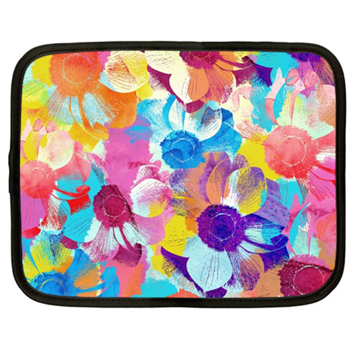 Anemones Netbook Case (XL)