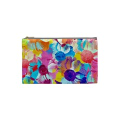 Anemones Cosmetic Bag (small)  by DanaeStudio