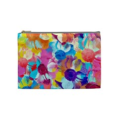 Anemones Cosmetic Bag (medium)  by DanaeStudio