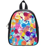 Anemones School Bags (Small)  Front