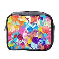 Anemones Mini Toiletries Bag 2 Side by DanaeStudio
