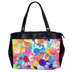 Anemones Office Handbags (2 Sides)  by DanaeStudio