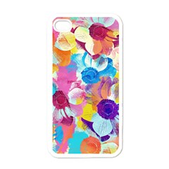 Anemones Apple Iphone 4 Case (white) by DanaeStudio