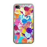 Anemones Apple iPhone 4 Case (Clear) Front
