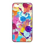 Anemones Apple iPhone 4/4s Seamless Case (Black) Front