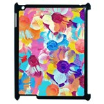 Anemones Apple iPad 2 Case (Black) Front
