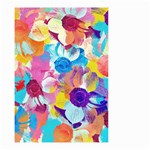 Anemones Small Garden Flag (Two Sides) Back