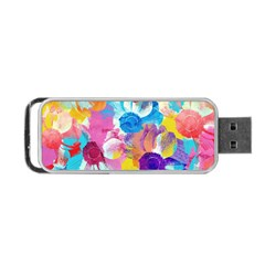 Anemones Portable Usb Flash (two Sides) by DanaeStudio