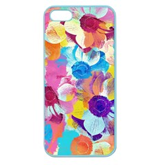 Anemones Apple Seamless iPhone 5 Case (Color)