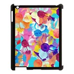 Anemones Apple iPad 3/4 Case (Black) Front