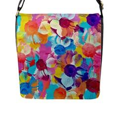 Anemones Flap Messenger Bag (L)
