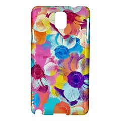 Anemones Samsung Galaxy Note 3 N9005 Hardshell Case by DanaeStudio