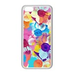 Anemones Apple iPhone 5C Seamless Case (White) Front