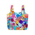 Anemones Full Print Recycle Bags (S)  Back