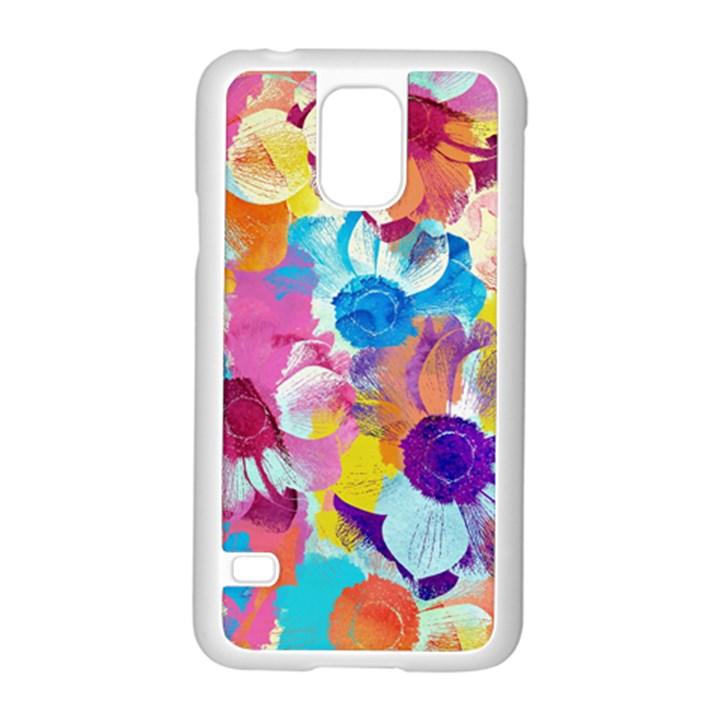 Anemones Samsung Galaxy S5 Case (White)