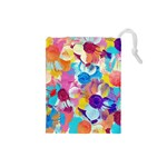 Anemones Drawstring Pouches (Small)  Front