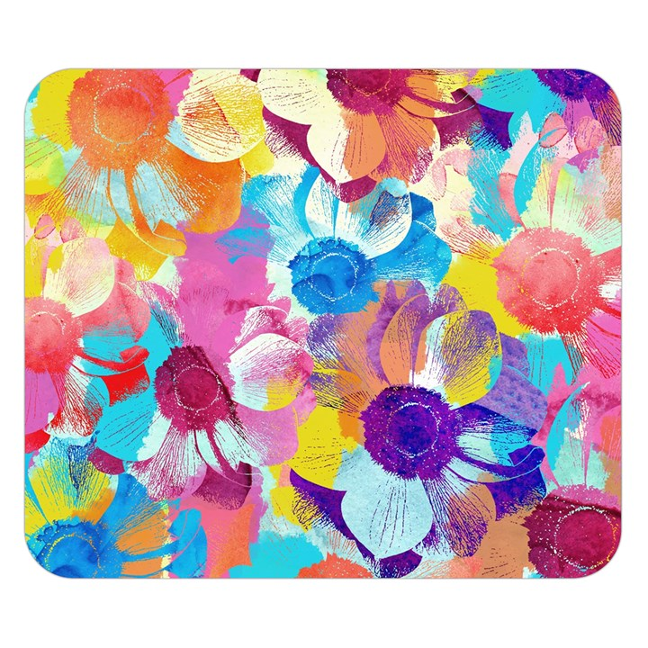 Anemones Double Sided Flano Blanket (Small)