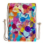 Anemones Drawstring Bag (Large) Back