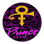 Prince Poster Round Mousepads
