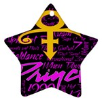 Prince Poster Ornament (Star)