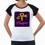 Prince Poster Women s Cap Sleeve T