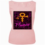 Prince Poster Women s Pink Tank Top