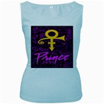 Prince Poster Women s Baby Blue Tank Top