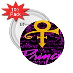 Prince Poster 2.25  Buttons (100 pack)