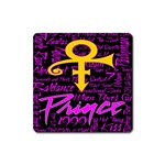 Prince Poster Square Magnet