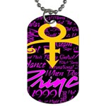 Prince Poster Dog Tag (Two Sides)