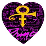 Prince Poster Jigsaw Puzzle (Heart)