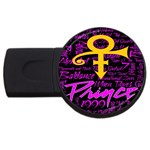 Prince Poster USB Flash Drive Round (4 GB)