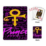 Prince Poster Playing Card