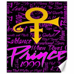 Prince Poster Canvas 20  X 24   by Onesevenart