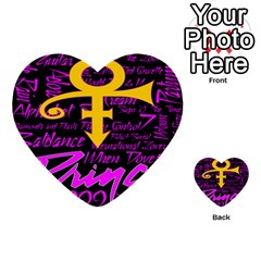 Prince Poster Multi Purpose Cards (heart)  by Onesevenart