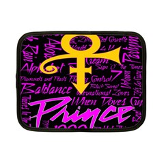 Prince Poster Netbook Case (small)  by Onesevenart