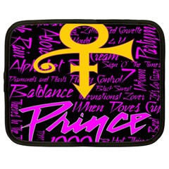 Prince Poster Netbook Case (xxl)  by Onesevenart