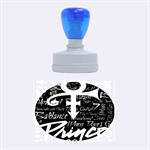 Prince Poster Rubber Oval Stamps