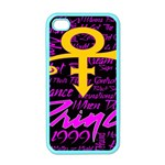 Prince Poster Apple iPhone 4 Case (Color)