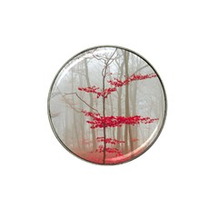 Magic Forest In Red And White Hat Clip Ball Marker (10 Pack)
