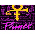 Prince Poster Birthday Cake 3D Greeting Card (7x5)