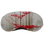Magic forest in red and white Sleeping Masks