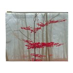Magic forest in red and white Cosmetic Bag (XL) Front