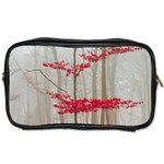 Magic forest in red and white Toiletries Bags Front
